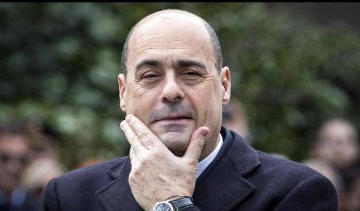 zingaretti insulta borgonzoni controfigura