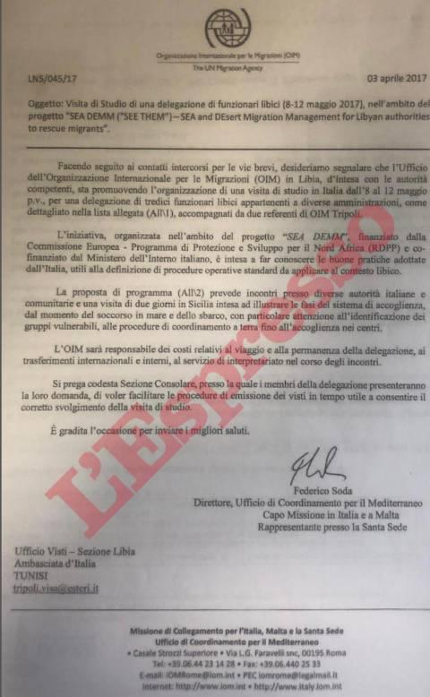 italia rinnova memorandum libia