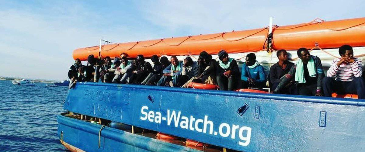 migranti sea watch messina