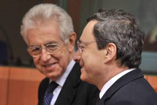 """L'ex Premier Monti: """"Il Paese ha bisogno in questo momento di una guida come Mario Draghi"""" - Leggilo.org"""