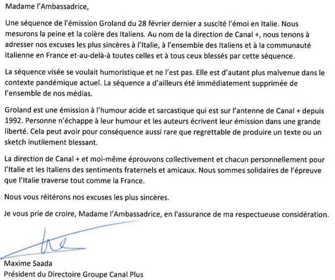 Coronavirus Francia chiede scusa- Leggilo