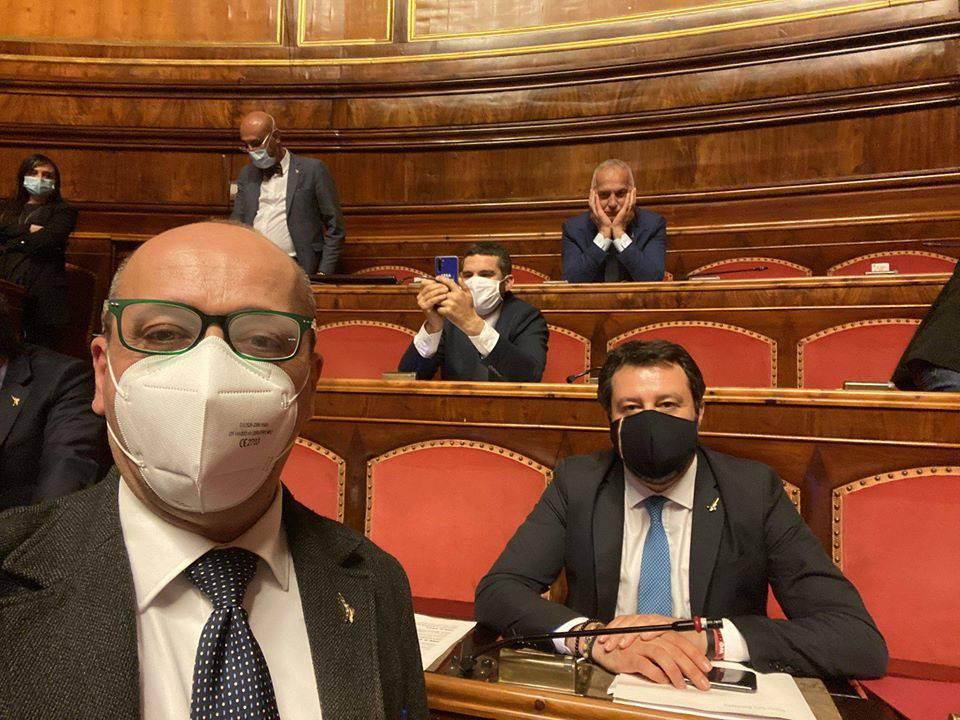 """La Lega occupa Camera e Senato : """"Conte dia risposte certe a famiglie e imprese italiane"""" - Leggilo.org"""