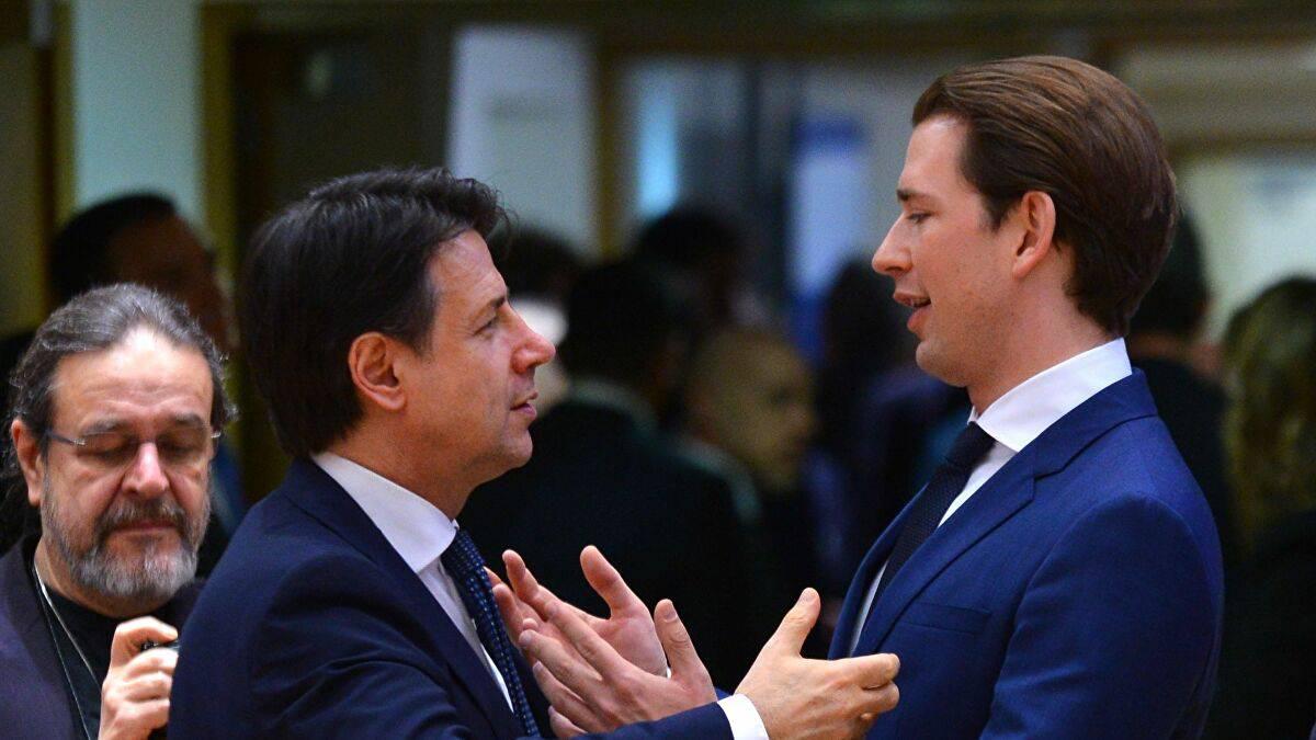 austria guida fronte contro merkel macron