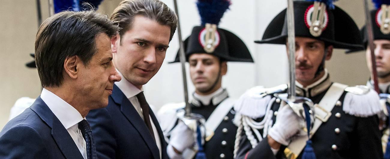 austria non riapre italia
