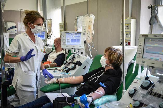 coronavirus terapia plasma
