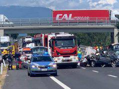 arezzo incidente A1