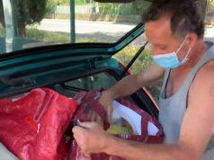 coronavirus riccardo vive in macchina