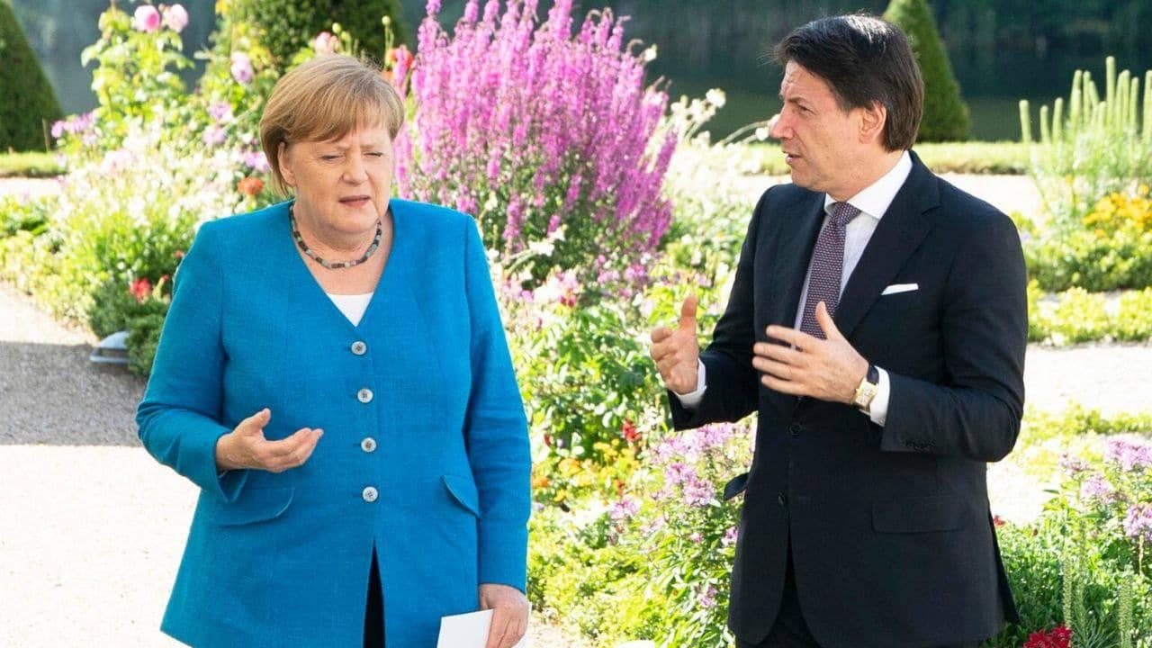 """Conte incontra la Merkel in vista del Consiglio Europeo: """"Italia accetta monitoraggio spese"""" - Leggilo.org"""