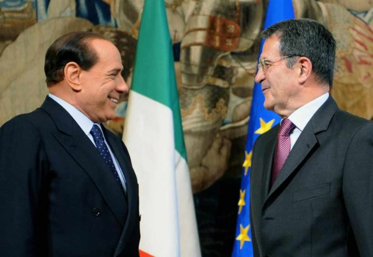 Prodi Berlusconi 25/07/2020