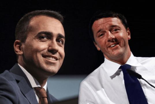"""Di Maio preferisce Renzi a Di Battista: """"Voglio fare il part"""