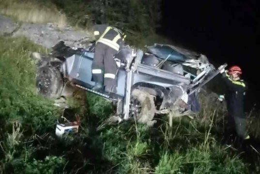 Incidente stradale a Castelmagno: cinque ragazzi perdono la vita