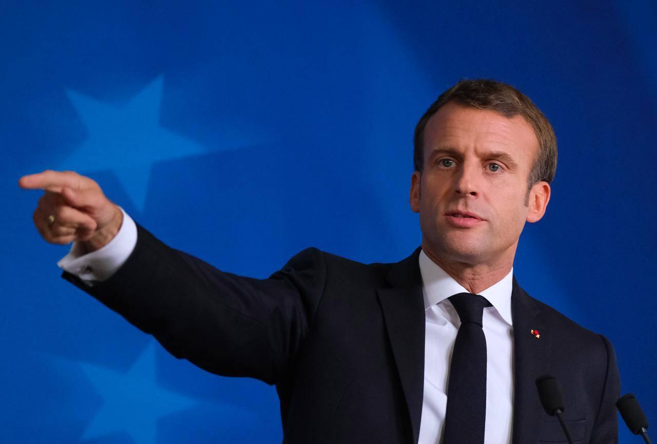 Macron Getty 28 agosto 2020