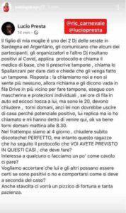 Paola Perego momenti di paura per il figlio a causa del Coronavirus