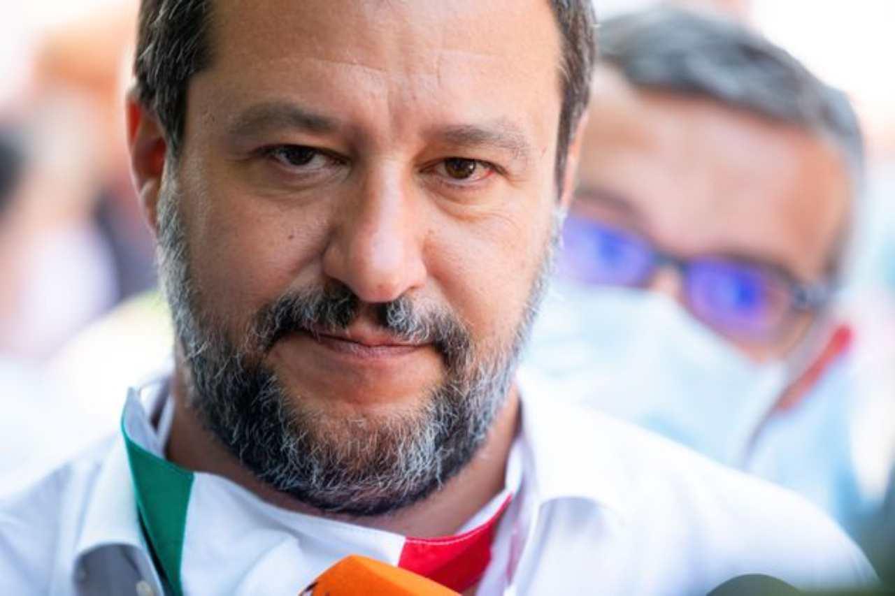 Salvini scandalo 13/08/2020
