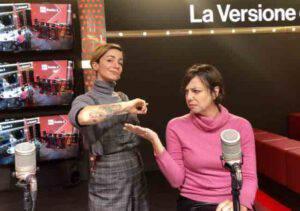 """Andrea Delogu ed il tatuaggio: """"Sono costretta a coprirlo prima della diretta"""""""