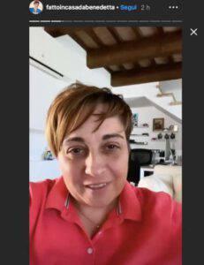 """Benedetta Rossi dichiara: """"Mi è preso il panico, me ne sono accorta appena in tempo"""""""