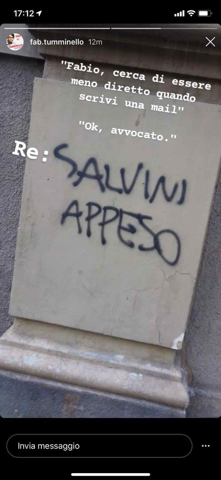 Screen Salvini 15 settembre 2020