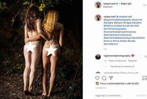 Ornella Muti e Naike Rivelli: insieme e senza veli su Instagram