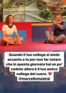 Andrea Delogu si sente male in diretta: il gesto dolcissimo di Marcello Masi