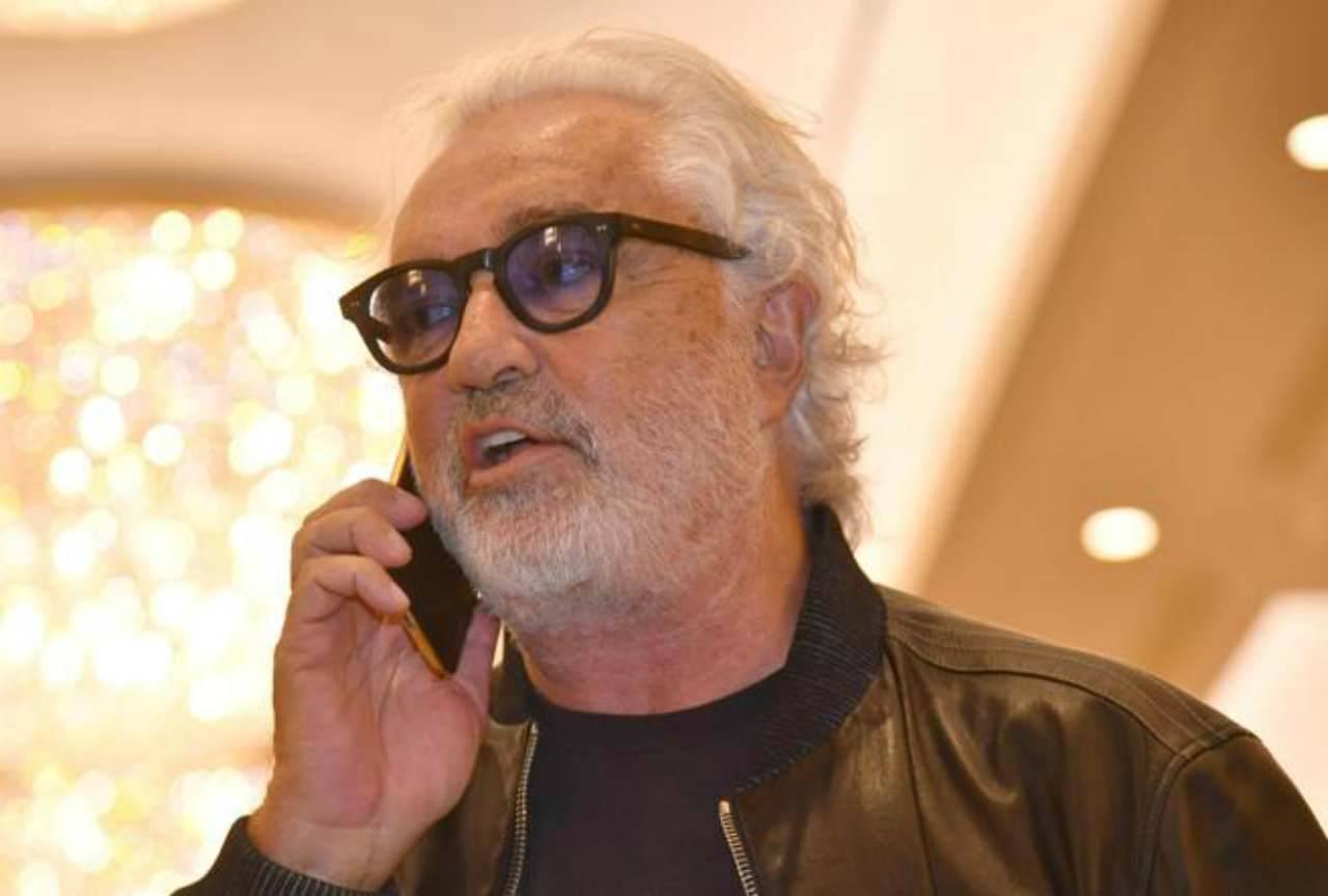 """Flavio Briatore in gran forma: """"E' venuta a trovarmi una modella bellissima"""""""