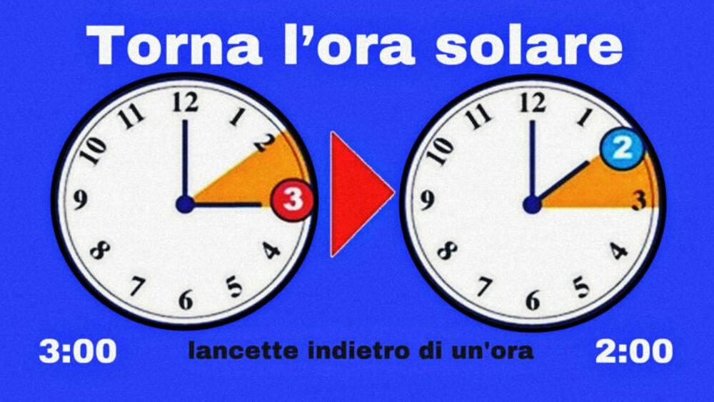 Torna l'ora solare, dobbiamo rimettere gli orologi   ecco quando e come