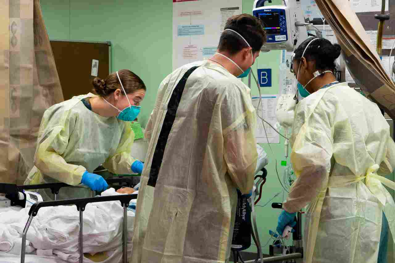 Ospedale GETTY 24 ottobre 2020