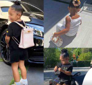 La figlia di questa Vip all'asilo con uno zaino da 12 mila euro-FOTO