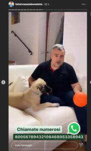 """Benedetta Rossi triste su Instagram: """"Marco....la dai tu la notizia"""""""