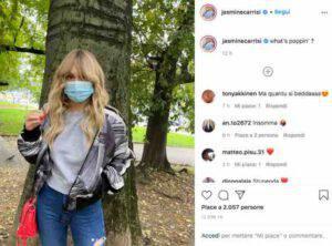 """Jasmine Carrisi su Instagram dichiara: """"Che cosa sta succedendo?"""""""