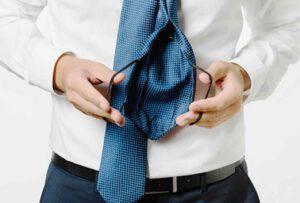 Cravatta-mascherina