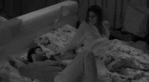 GF VIP: Elisabetta Gregoraci e Pierpaolo Petrelli nello stesso letto
