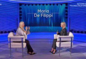 Maria De Filippi: il dettaglio in diretta con Mara Venier non sfugge a nessuno