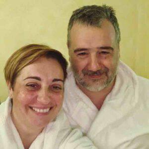 """Benedetta Rossi ed il marito dichiarano: """"Non abbiamo più l'età per farlo"""""""