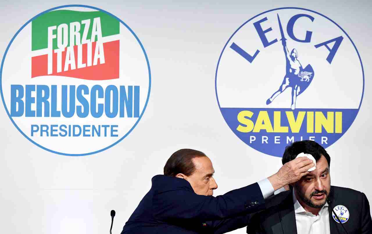 Berlusconi salvini getty 20 novembre 2020