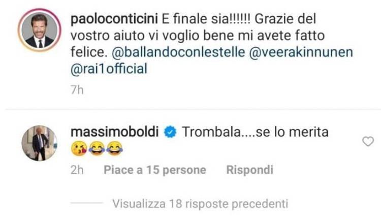 conticini Boldi instagram