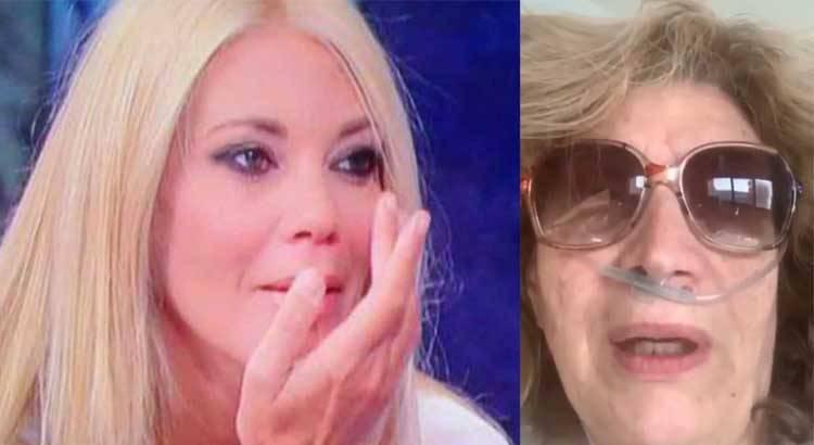 Eleonora Daniele lacrime per Iva Zanicchi
