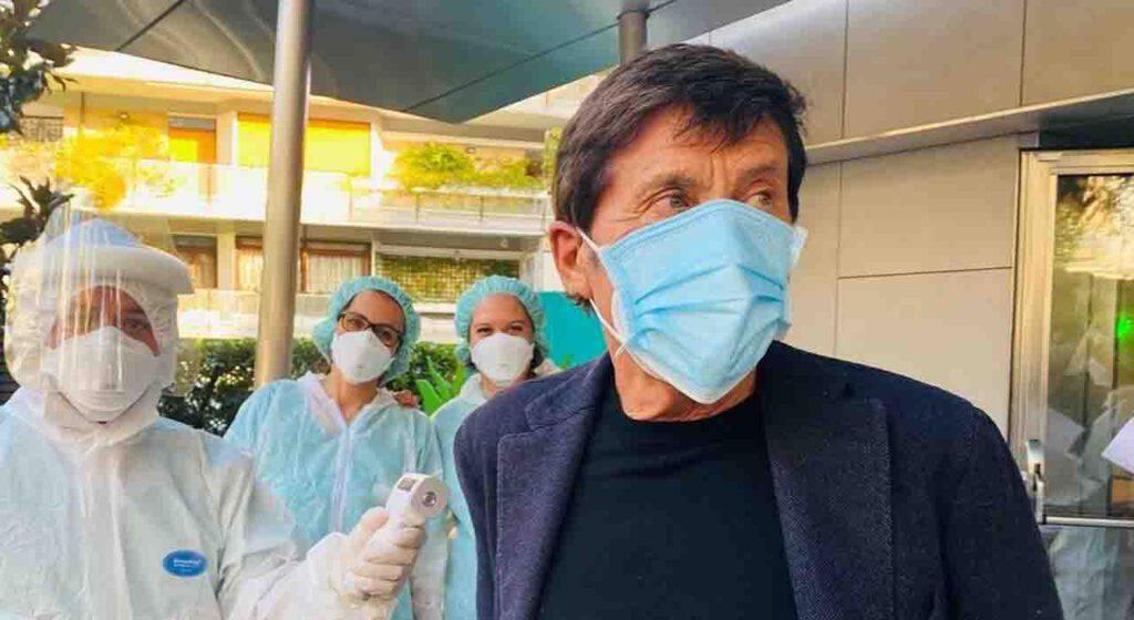 Gianni Morandi Coronavirus