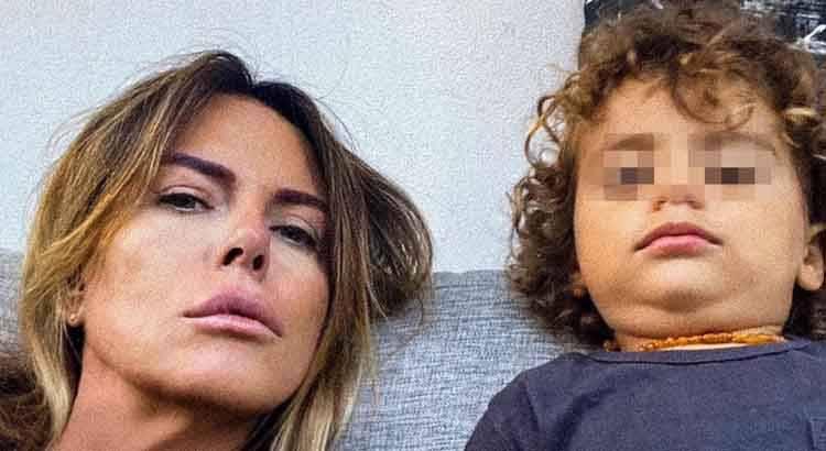 Paola Perego auguri al nipote