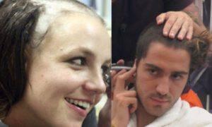 Gf Vip Tommaso Zorzi Britney Spears web rasato capelli
