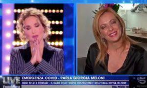 Barbara D'urso Giorgia Meloni Omofobia