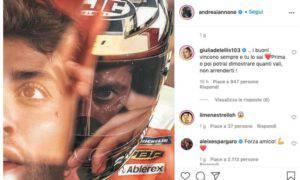 Giulia De Lellis Andrea Iannone Instagram messaggio exfidanzato
