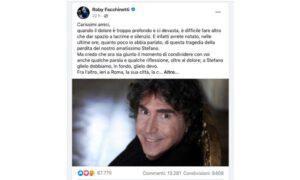 Roby Facchinetti Stefano D'Orazio