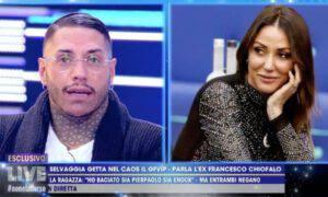 Francesco Chiofalo Selvaggia Roma Live Barbara D'Urso