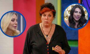 Gf Vip Patrizia De Blanck nomination arrabbiata