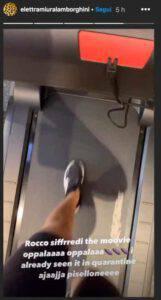 """Elettra Lamborghini mostra un video particolare : """"Mi alleno con Rocco Siffredi"""""""
