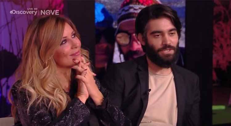 Selvaggia Lucarelli in tv con il fidanzato