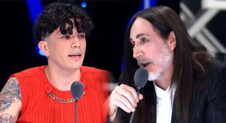 X Factor 2020 Hell Raton contro Manuel Agnelli