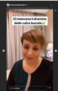 """Benedetta Rossi: il """"dramma"""" è successo in una giornata davvero difficile"""