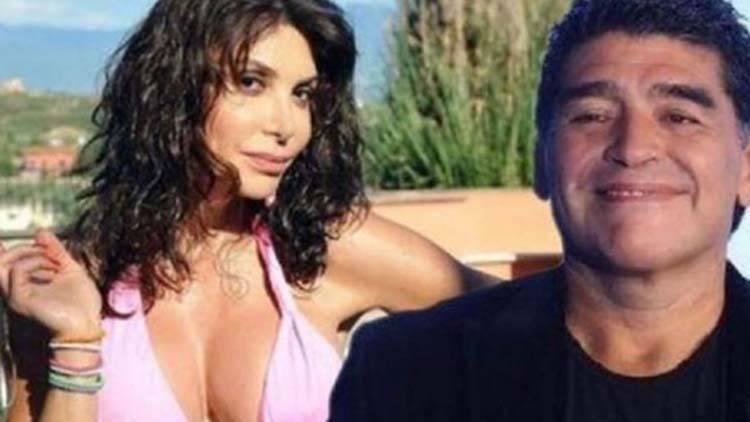 Carmen Di Pietro post su Maradona