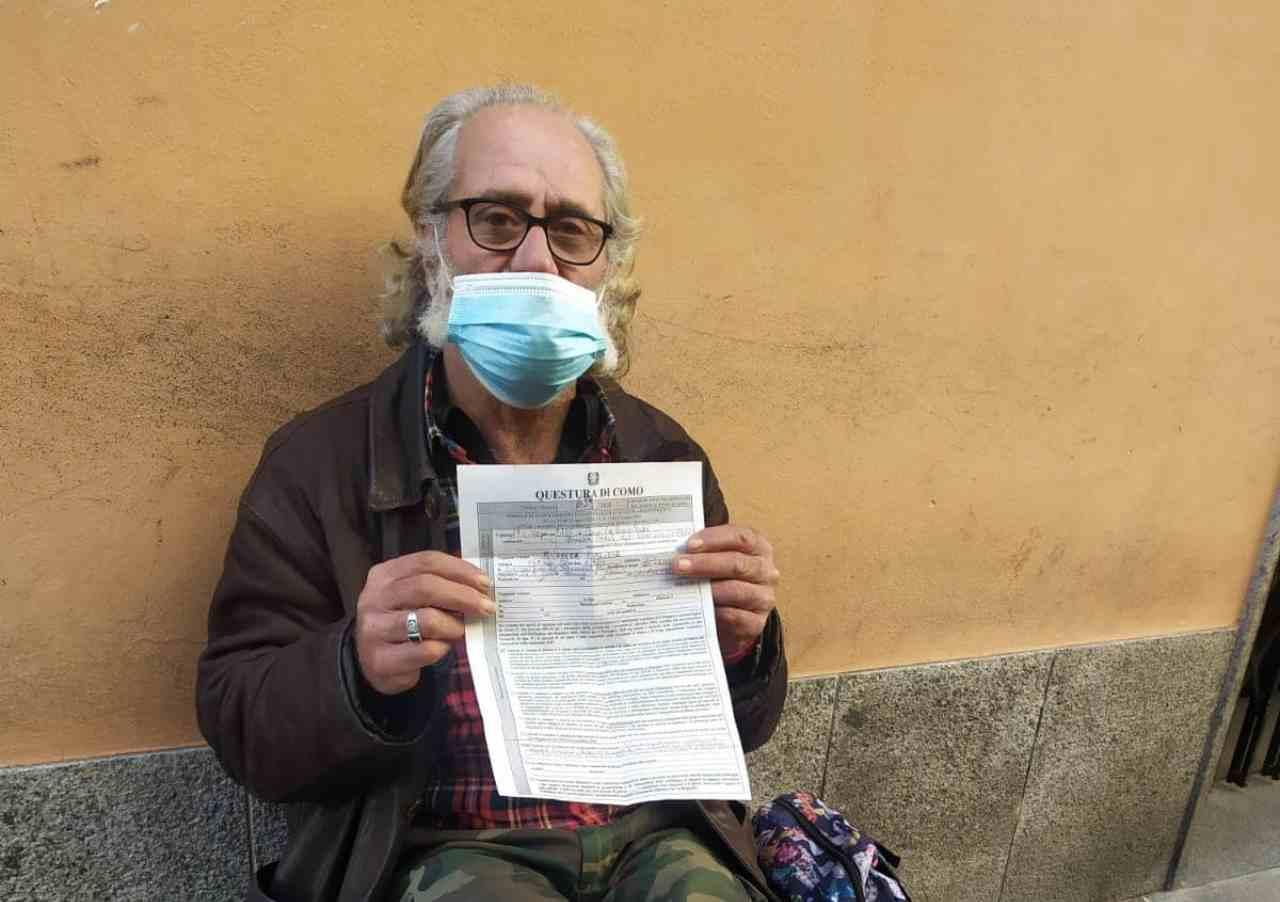 Como, senzatetto multato perchè lontano da casa